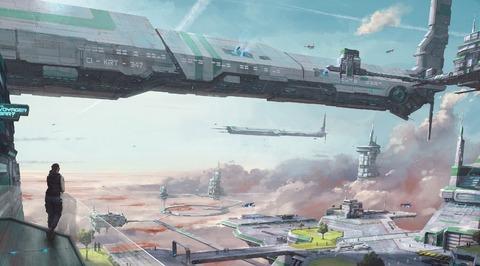 Aperçu en image de la planète Crusader de Star Citizen