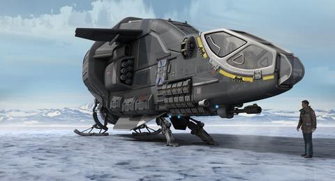 L'Herald Drake est un coursier, mais dispose d'équipements spécifiques à la guerre électronique
