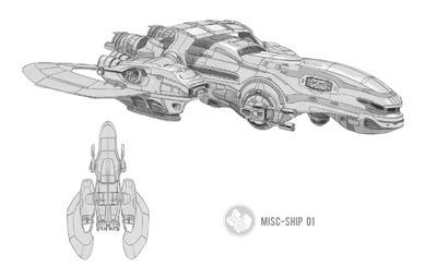 La création d'un vaisseau choisi par les joueurs