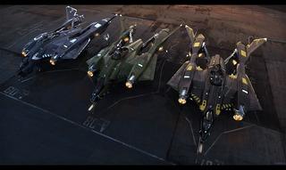 Les variantes du Vanguard