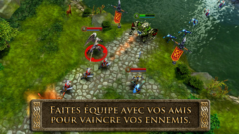Heroes of Order and Chaos - Association entre Twitch et Gameloft, pour stream le MOBA sur mobiles Heroes of Order & Chaos