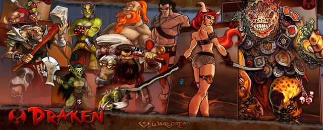 Bannière Warlords Draken