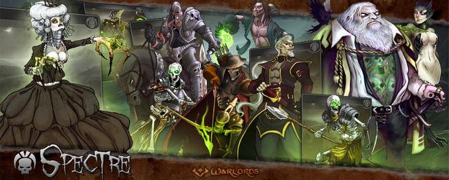 Bannière Warlords Spectre