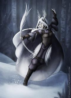 Archer en action