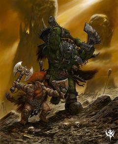 Dwarf Vs Choppa