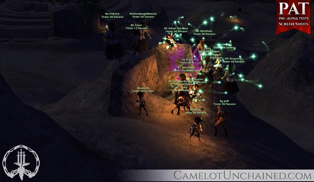 Screenshot Premier week-end Pré-alpha