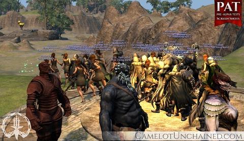 Camelot Unchained - Bilan du premier week-end de pré-alpha