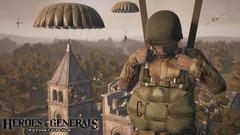 Se parachuter dans l'action sur Heroes and Generals