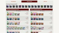 Un « character builder » pour Albion Online