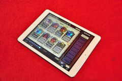 Version iPad d'Hearthstone - Heartstone