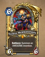 Gelbin Mekkatorque va bientôt s'éclipser avec la fin de la bêta d'HearthStone