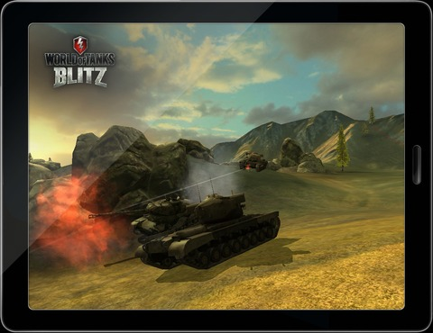 Wargaming.net - GDC 2013 - Wargaming annonce World of Tanks Blitz sur mobiles