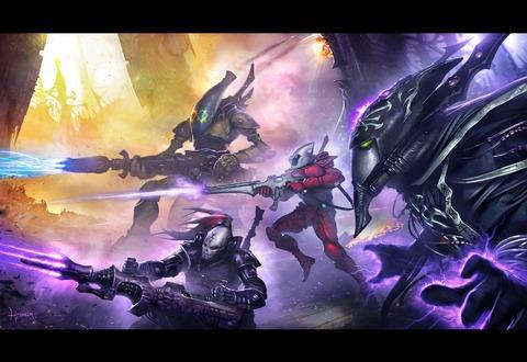 Warhammer 40 000 - Eternal Crusade - Quelle sous-faction pour les Eldars de Warhammer 40 000 Eternal Crusade ?