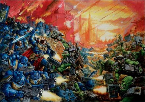Warhammer 40 000 - Eternal Crusade - « La guerre totale » de Warhammer 40K Eternal Crusade