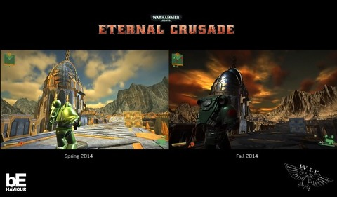 Warhammer 40 000 - Eternal Crusade - Warhammer 40.000 - Eternal Crusade illustre les progrès de son développement