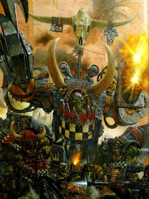 Warhammer 40 000 - Eternal Crusade - Présentation de la faction Ork de Warhammer 40.000 - Eternal Crusade