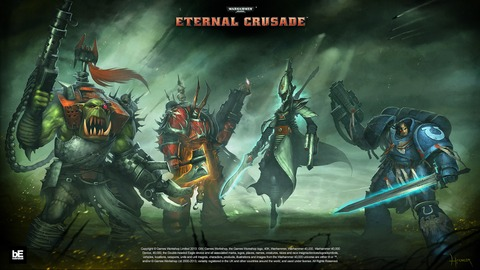 Warhammer 40 000 - Eternal Crusade - Eternal Crusade, phase 2 : les factions jouables et chapitres de War 40K