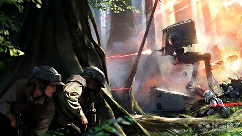 Première esquisse de « l'originalité » de Star Wars Battlefront