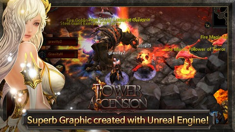 Tower of Ascension - Lancement de Tower of Ascension sur mobiles