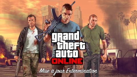 Grand Theft Auto Online - La mise à jour Extermination disponible pour GTA Online