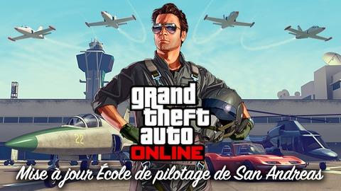 Grand Theft Auto Online - GTA Online propose une école de pilotage