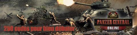 Panzer General Online - Jeu-concours : 250 packs pour bien débuter dans Panzer General Online