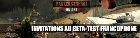 Panzer General Online - 1000 invitations au bêta-test francophone de Panzer General Online