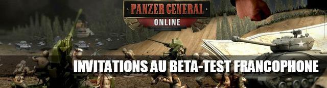 1000 invitations au bêta-test francophone de Panzer General Online