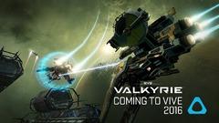 EVE Valkyrie confirmé pour le HTC Vive