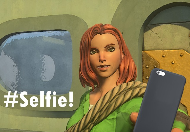 La mode des selfies débarque dans Landmark