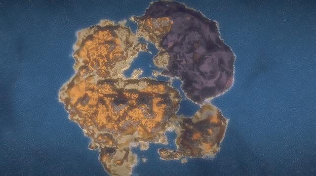 Exemple de nouveaau continent de Landmark