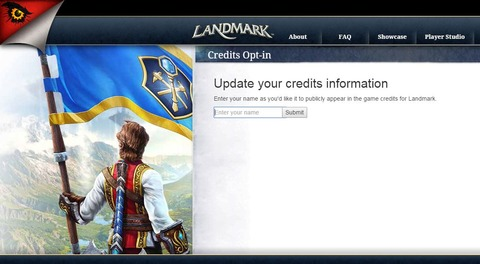 Landmark - Votre nom dans les crédits de Landmark