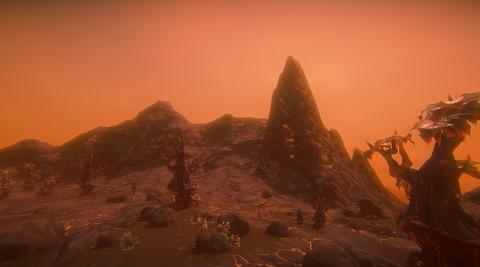 Nouveau biome volcanique de Landmark
