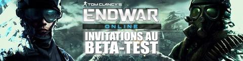 Distribution : 500 invitations au bêta-test fermé d'EndWar Online