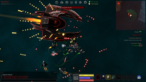 Gangs of Space - Le MMO SHMUP Gangs of Space s'expose sur Steam Greenlight
