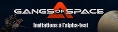 100 invitations pour devenir testeur sur l'alpha de Gangs of Space
