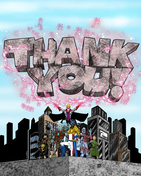 City of Titans - Fin de la super-campagne Kickstarter de City of Titans