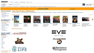 Amazon.fr se lance dans le téléchargement numérique de jeux vidéo