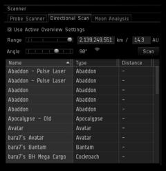 Des changements pour l'interface d'EVE Online