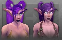 Les elfes de la nuit de World of Warcraft sous un nouveau jour