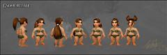 Nouvelles coiffures des femmes gnomes
