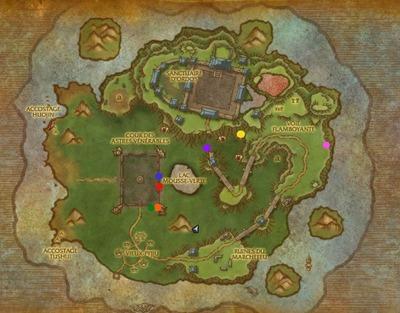 Carte île du temps figé
