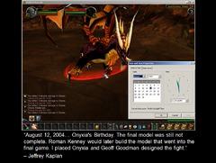 Premières images de World of Warcraft - Onyxia (12 août 2004)