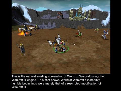 Retours aux sources : quand World of Warcraft esquisse ses toutes premières captures d'écran