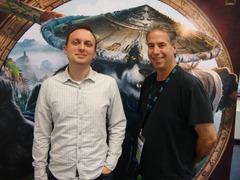 Gamescon 2012: John Lagrave (Lead Game Producer) and Ion Hazzikostas (Lead Encounter Designer)