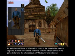World of Warcraft en 1999 - cité de Valguard