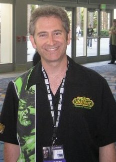 Mike Morhaime lors de la Blizzcon 2007