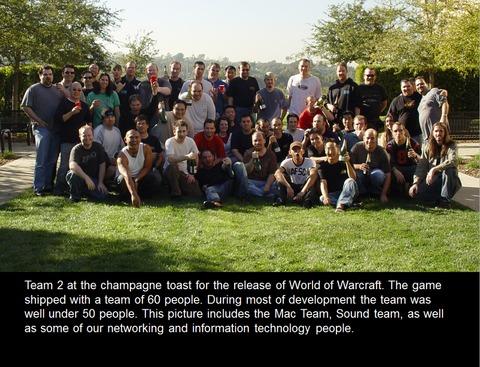 Première équipe de développement de World of Warcraft