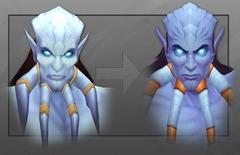 Nouveaux visages: au tour du draeneï homme