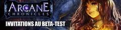 1000 invitations au bêta-test européen d'Arcane Chonicles